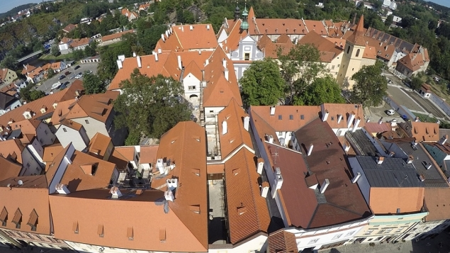 The City of Český Krumlov and its Monasteries