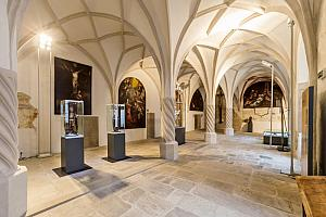 "exhibition ""Live and art in the Krumlov Monasteries"", photo by: Lubor Mrázek"